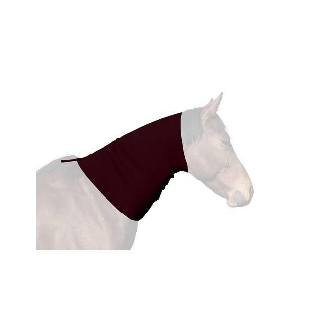 cubrecuello caballo, cubrecuello neopreno, cubrecuello hipica