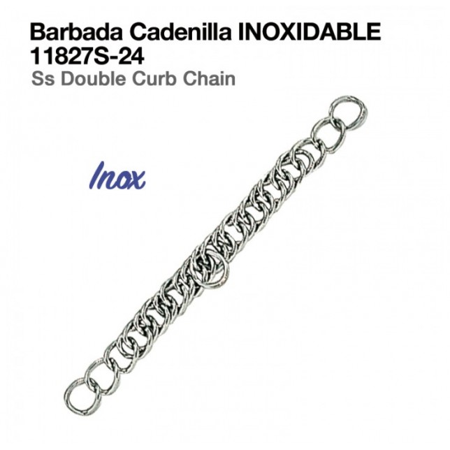 BARBADA CADENILLA INOXIDABLE