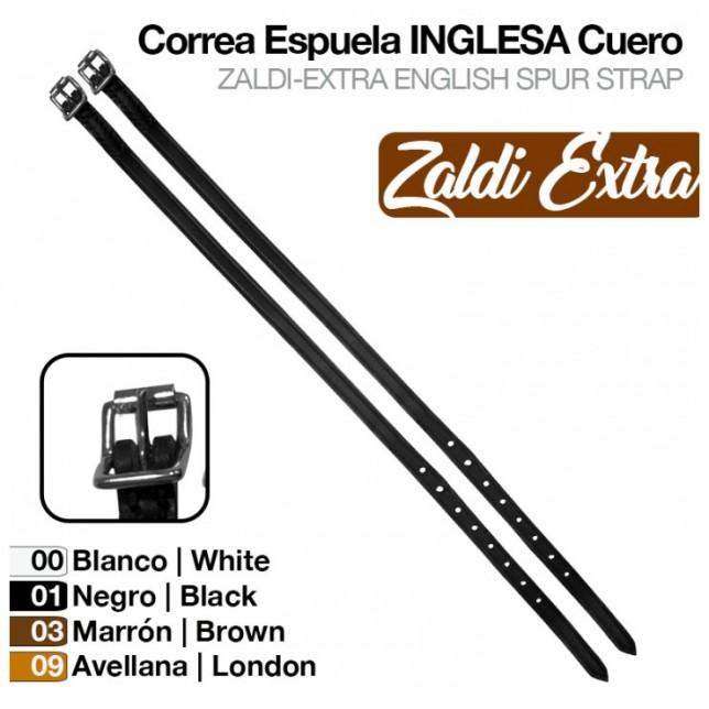 CORREA ESPUELA INGLESA ZALDI EXTRA