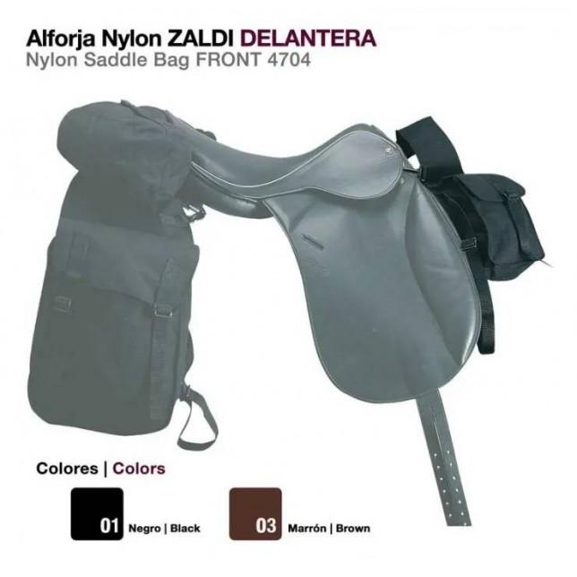 ALFORJA NYLON ZALDI DELANTERA