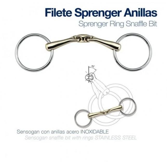 FILETE SPRENGER ANILLAS 3 PIEZAS 18MM