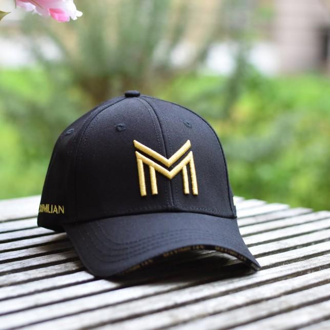 Gorra Maximiliam negro/oro
