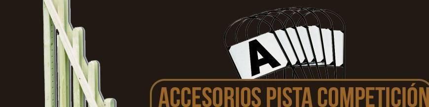 ACCESORIOS PARA PISTAS DE COMPETICIÓN