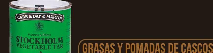 GRASAS Y POMADAS DE CASCO