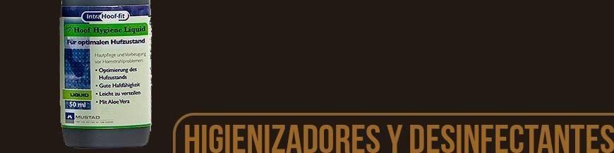 HIGIENIZADORES Y DESINFECTANTES DE CASCOS