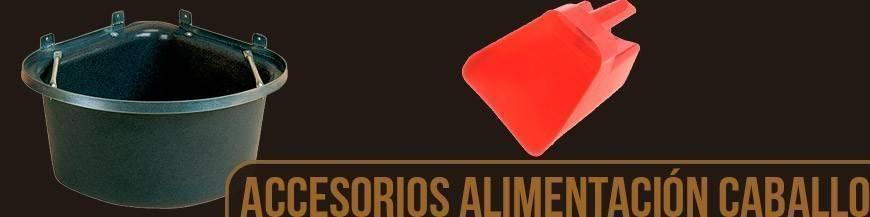 ACCESORIOS PARA ALIMENTACIÓN DEL CABALLO