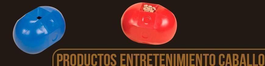 PRODUCTOS PARA EL ENTRETENIMIENTO DEL CABALLO