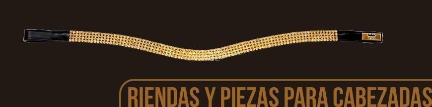 RIENDAS Y PIEZAS PARA CABEZADAS
