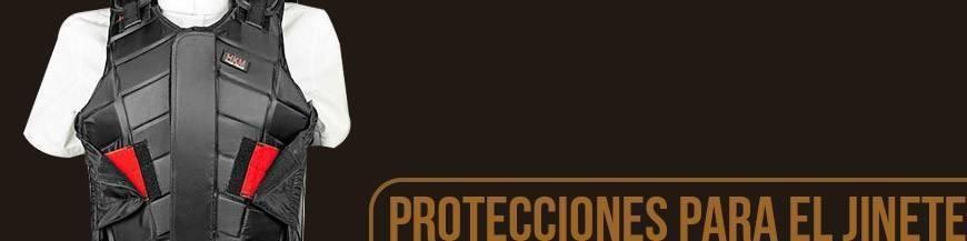 PROTECIONES PARA EL JINETE