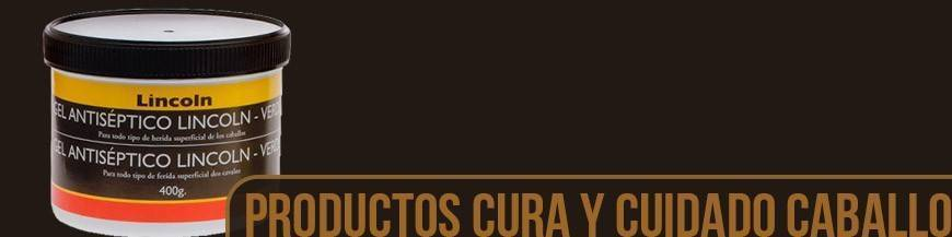 PRODUCTOS PARA CUIDADO Y CURA CABALLO