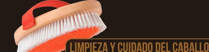 LIMPIEZA Y CUIDADO DEL CABALLO