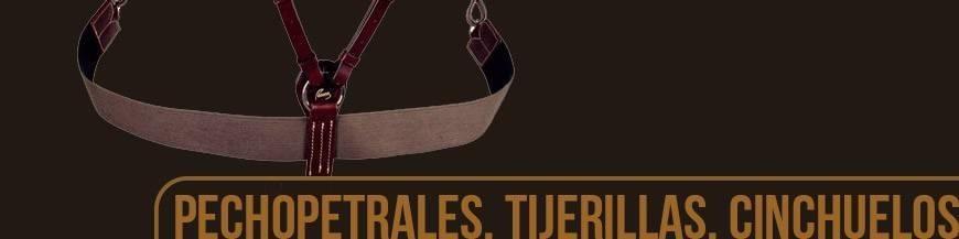 PECHOPETRALES, TIJERILLAS Y CINCHUELOS