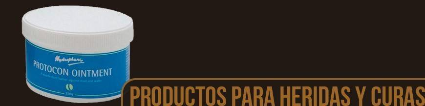 PRODUCTOS PARA HERIDAS, CURAS Y PREVENCIÓN