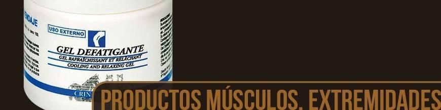 PRODUCTOS PARA MÚSCULOS, TENDONES Y EXTREMIDAD