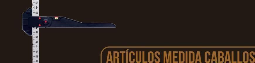 ARTÍCULOS PARA MEDIR AL CABALLO