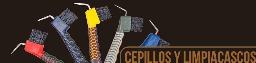 CEPILLOS Y LIMPIACASCOS