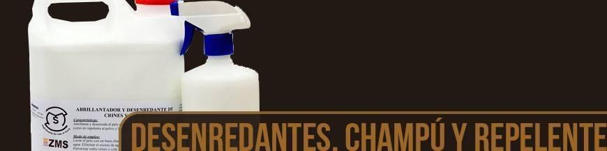 DESENREDANTES, CHAMPÚS Y REPELENTES