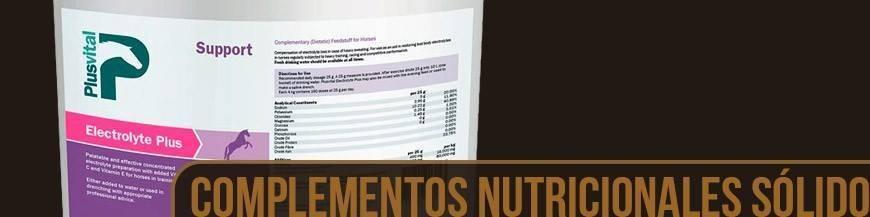 COMPLEMENTOS NUTRICIONALES SOLIDOS