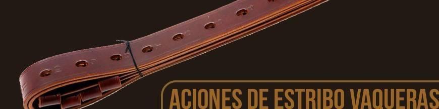 ACIONES DE ESTRIBO VAQUERAS Y PORTUGUESAS