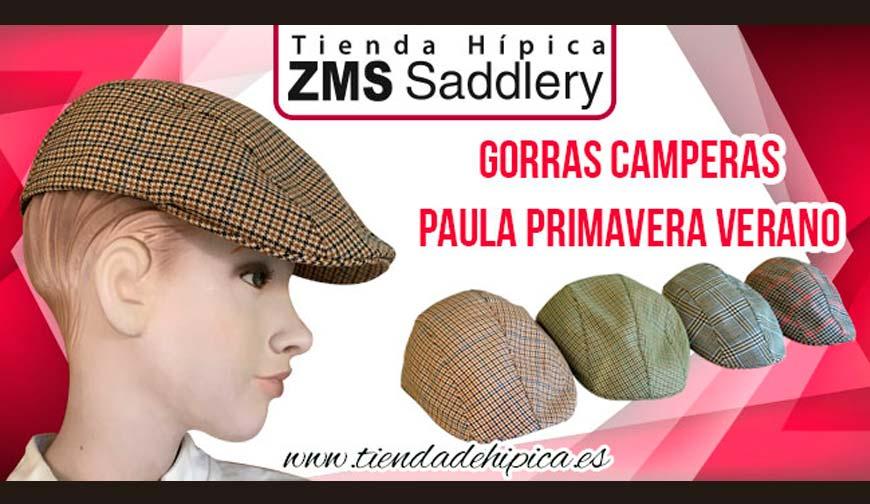 Nuevas gorras Paula camperas de primavera verano - Equorum tienda hípica 8da0e65891e